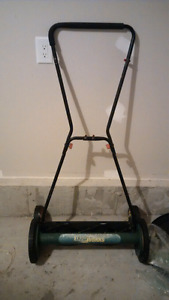 Hurry Moving Sale: Mechanical Lawn Mower