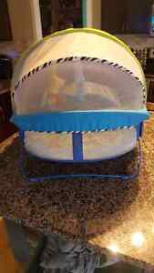 Fisher price play activity dome tent