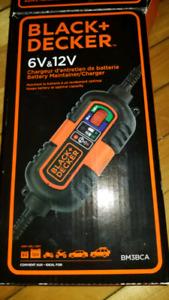 6V 12V Amp Volt Trickle Battery Charger Maintainer