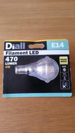 Diall E14 led bulb