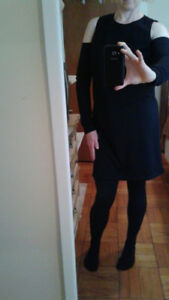 New medium black sweater from Bluenotes with shoulder cut outs