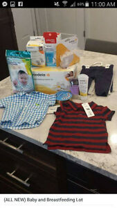 ALL NEW Baby and Breastfeeding Items
