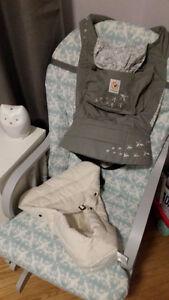 Ergobaby Original - Galaxy Grey with Infant Insert