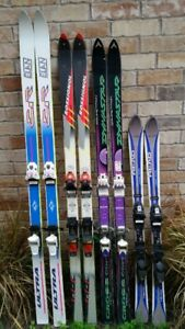 Used downhill ski equipment for sale