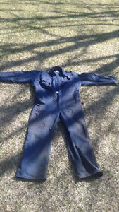 Sz 44 chest blue coveralls