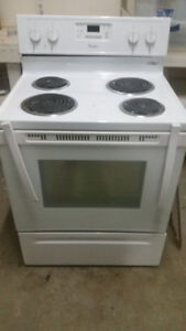 Whirlpool white element stove - free - but broken handle