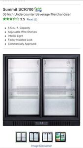 Summit Undercabinet Commercial Fridge