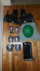 Rollerblades K2 + protège corps + casque