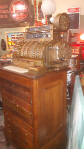 ANTIQUE Caisse - National - Cash Register -1912 -