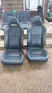 RSX leather seats on 1992-1995 civic rails