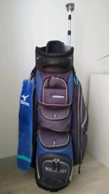 Motocaddy S Series Trolley Cart Golf Bag Mizuno Towel & Ball Retriever