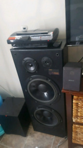 Awesome tower speakers