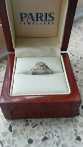 Engagement ring for sale-rose and white gold