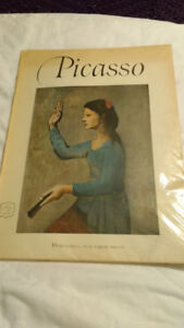 Picasso- An Abrams Art Book - Old Book