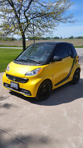 2013 Mercedes Smart Car.City Flame Special Edition