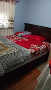 Furnished bedroom available for rent near Sheridan college