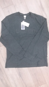 NWT - Men's BENCH Long Sleeve T-SHIRT WAVY 3D Logo Size XXL