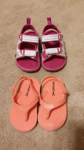 Guc toddler size 5 sandals