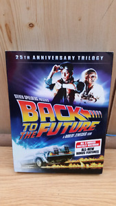 BACK TO THE FUTURE 25th Anniversary Trilogy DVD box set