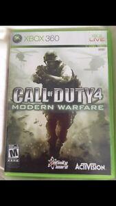 COD Modern Warfare 4 Xbox 360 game
