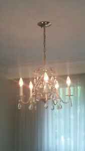 Chandeliers - gold tone