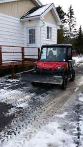 Plow to fit a Ranger or RZR Side by Side
