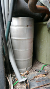 Pop beer keg