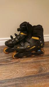 Size 8.5 inline rollerblades