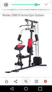 Home gym and rowing machine