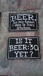 BEER SIGNS FOR MAN CAVE BRAND NEW