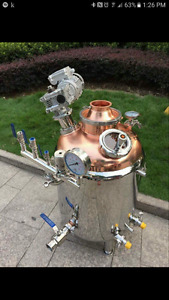 Distillation equipment large and small