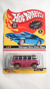 HOT WHEELS RLC NEO CLASSICS VOLKSWAGEN DELUXE STATION WAGON MINT