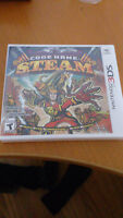 Sealed copy of Nintendo 3DS Game - Codename S.T.E.A.M.