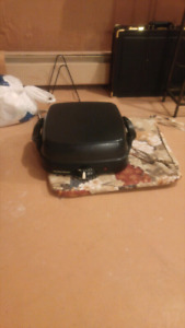 Never used Hamilton Beach skillet griddle with recipe book