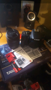 PRICED TO SELL! Canon rebel T5i / 700d sale or trade