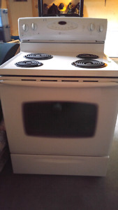 White Maytag Oven