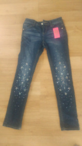 Justice Jeans **new with tags** girls size 10