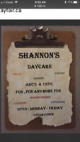 SHANNONS HOME DAYCARE