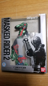 S. H. Figuarts Masked Rider 1 + 2 (The First) No plastic insert