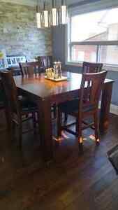 Price Drop: Pub Style Dinning Room Table