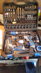 Mastercraft 71 pc air tool kit