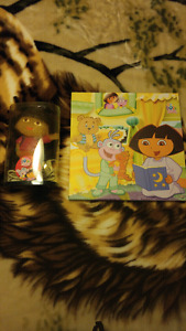 Dora lamp and Canvas Picture 20.00