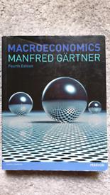 Macroeconomics Fourth Edition - Manfred Gärtner