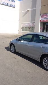 2012 Honda civic EX .finance available