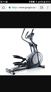 Elliptical Nordictrack E5.7