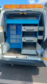 Bri-stor van racking and shelving