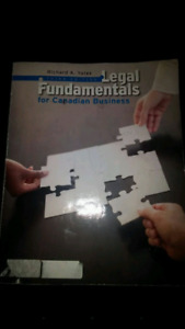 Legal Fundamentals for Canadian Business Richard A Yates