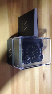 Black & Gold Armani Exchange Watch