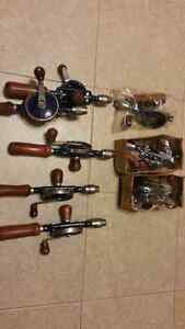 Reproduction new vintage manual hand drills