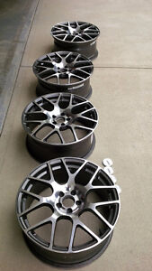 TSW Nurburgring-18x8, 5x100, +45mm et, 72.1mm CB (ROTARY FORGED)